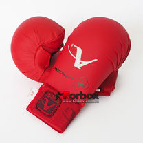Перчатки для каратэ Arawaza на основе PU (BO-7250-R-repl, красный)