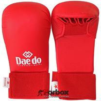 Рукавиці для карате Daedo (BO-5076, червоний)