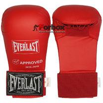 Перчатки для каратэ Everlast на основе PU (BO-3956, красные)