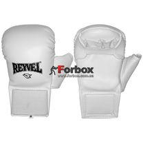 Перчатки для каратэ REYVEL (0216-wh, белые)