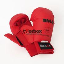 Перчатки для каратэ Smai WKF Approved с защитой большого пальца (SMP-101, красные)