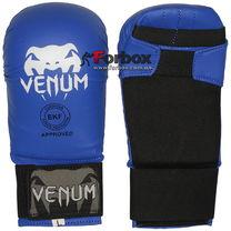 Перчатки для каратэ Venum (MA-5855, синие)