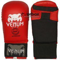 Перчатки для каратэ Venum (MA-5855, красные)