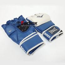 Рукавиці для змішанних видів єдиноборств MMA Everlast (7684BL, синьо-білі)