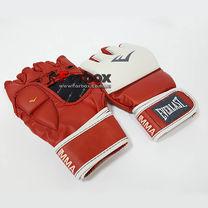 Рукавиці для змішанних видів єдиноборств MMA Everlast (7684RD, червоно-білі)