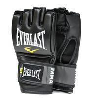 Перчатки тренировочные Everlast Pro Style Grappling Gloves (7778-BK, черные)