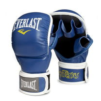 Тренувальні рукавиці ММА Everlast Striking Pro (MTSPE, синьо-білі)