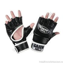 Рукавиці для MMA Green Hill Felis (MMF-0014, чорні)