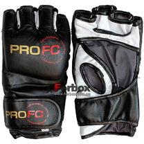 Перчатки для MMA М3 кожа Lev (1304-bk, черные)