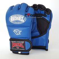 Перчатки М1 REYVEL кожа (0182-bl, синие)