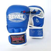 Рукопашні рукавиці REYVEL шкіра (0177-bl, сині)
