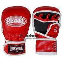 Рукопашные перчатки REYVEL кожа (0177-rd, красные)