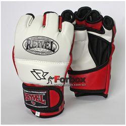 Перчатки для ММА REYVEL М1 винил (RLM1A, белые)