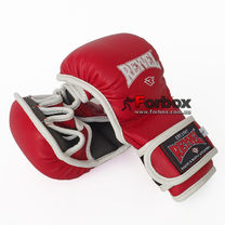 Рукопашные перчатки REYVEL обновленные винил (MMTUA-RD, красные)