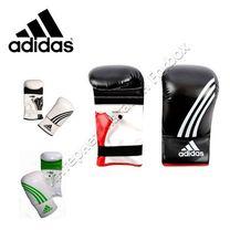 Снарядные перчатки Adidas  Box-Fit (ADIBGS01, черно-белые)