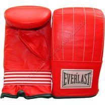Снарядные перчатки Everlast натуральная кожа (BMENL, красные)