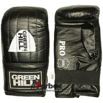 Перчатки для снарядов Green Hill  Pro (PMP-2064, черные)