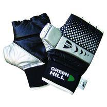 Шингарты Green Hill из натуральной кожи (CFBM-2077, черные)