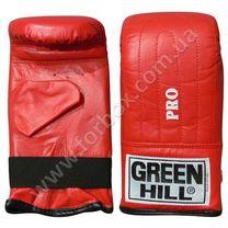 Перчатки для снарядов Green Hill Pro (PMP-2064, красные)