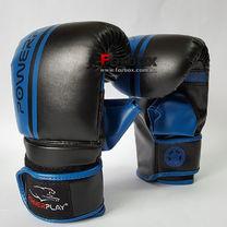 Снарядные перчатки Power Play PU (3025, сине-черные)