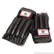 Снарядные перчатки зебра кожа Reyguard