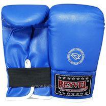 Снарядные перчатки REYVEL винил (1198-bk, синие)