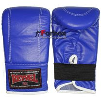 Снарядные перчатки REYVEL кожа (0164-bl, синие)