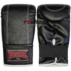 Снарядные перчатки REYVEL винил (1198-bk, черные)