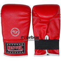 Снарядные перчатки REYVEL винил (1198-rd, красные)