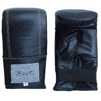 Снарядные перчатки Thai Professional из натуральной кожи (TPBG6-BK, черные)