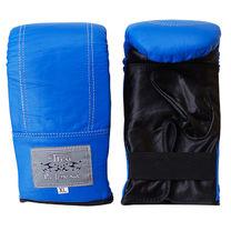 Снарядные перчатки Thai Professional из натуральной кожи (TPBG6-BL, синие)