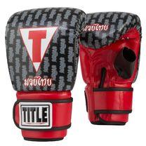 Перчатки снарядные TITLE Muay Thai Pro Bag Gloves (TMTPBG-BK, Черный)