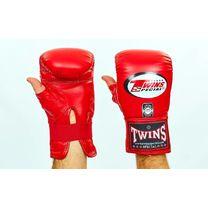 Снарядные перчатки Twins кожаные (TBGL-1H-RD, красный)