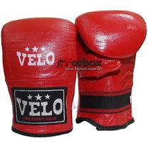 Снарядные перчатки кожа Velo (ULI-4005-B, красный)