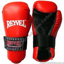 Перчатки для тхэквондо ITF REYVEL (1378-rd, красные)