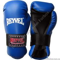 Перчатки для тхэквондо ITF REYVEL (1378-bl, синие)