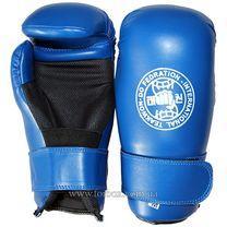 Перчатки для тхэквондо ITF Zelart из PU кожи (MA-4767, синие)