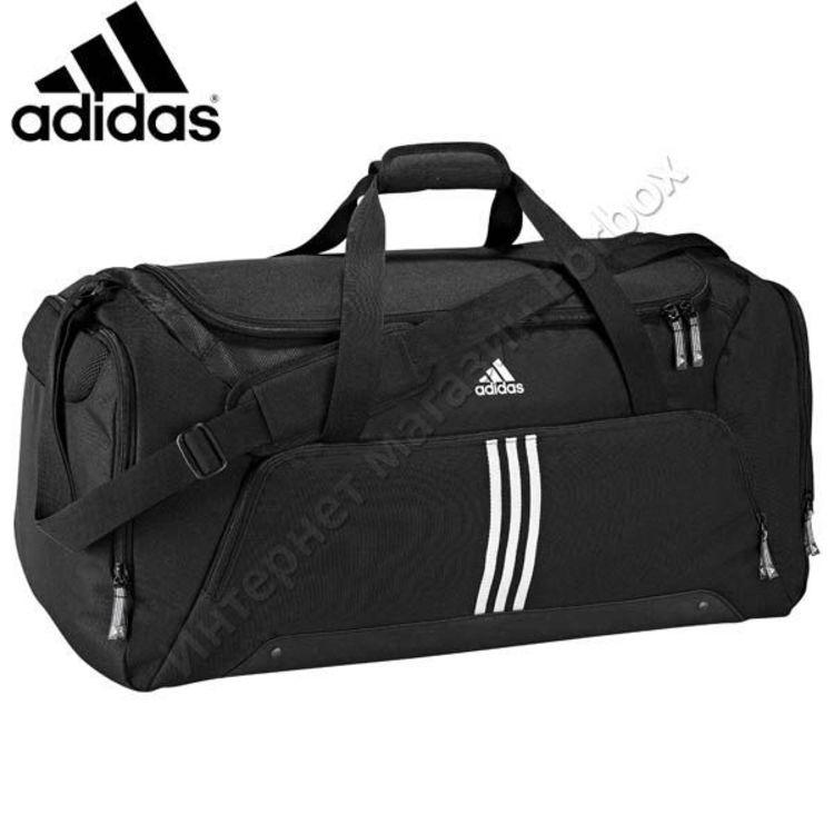83f9e11b Сумка спортивная Adidas Team Bag (V86893, черная) купить в магазине ...