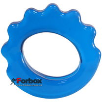 Эспандер кистевой Кольцо фигурный 30 кг (FI-4386, синий)
