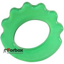 Эспандер кистевой Кольцо фигурный 30 кг (FI-4386, зеленый)