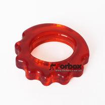 Эспандер кистевой Кольцо фигурный 30 кг (FI-4386, красный)