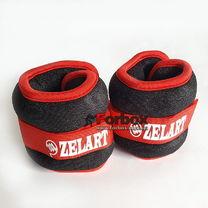 Утяжелитель манжеты для рук и ног Zelart 2*0,5кг (FI-2502-1, красный)