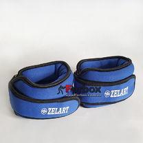 Утяжелитель манжеты для рук и ног Zelart 2*1кг (FI-5732-2, синий)