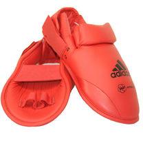 Захист підйому стопи Adidas фути для карате з акредитацією WKF (661.50Z, червоні)