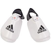 Защита стопы Adidas тхэквондо полиуретан (JWH2012, белая)