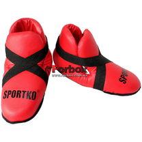 Защита подъема стопы футы SportKo (1934-rd, красные)