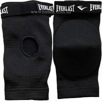 Налокотник для тайского бокса с фиксатором Everlast (MA-4616, черный)