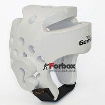 Шлем для тхэквондо Gemini из PU (GST, белый)