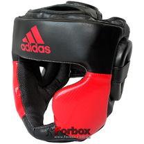 Шлем тренировочный Adidas Response (ADIBHG023-BKRD, черно-красный)