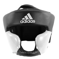 Шлем тренировочный Adidas Response (ADIBHG023-BK, черно-белый)